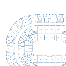 Rocket Mortgage Fieldhouse Interactive Hockey Seating Chart