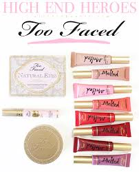 the best from too faced cosmetics slashed beauty