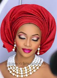 topnotch makeovers nigerian bride makeup and gele for 2016 bellanaija weddings 20160124 115144