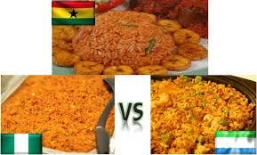 Image result for Nigerian vs jollof