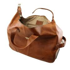 tuscany leather barbados trolley leather bag natural tl141537 100