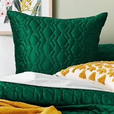 Home Republic - Neo Quilted Velvet Quilt Cover   Bedroom   Adairs