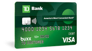 reloadable prepaid card for s td bank