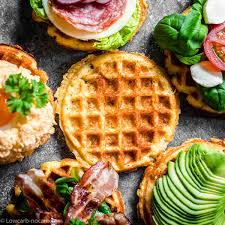 Adding almond flour gives them a more traditional waffle texture and helps get rid of any eggy taste. Quick And Easy Yogurt Keto Chaffle Sandwich Recipe Low Carb No Carb
