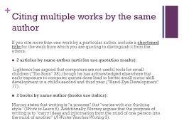 Quoting A Book Mla Impressive InText Citations Aka Parenthetical Citations Ppt Video Online