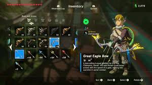 Zelda Breath Of The Wild Best Bows Where To Find The Best