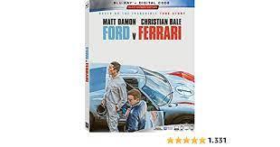 Ford V Ferrari Blu Ray Amazon De Dvd Blu Ray