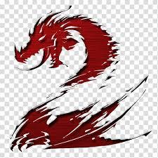 Guild Wars V Red Dragon Illustration Transparent Background