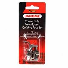 Janome Convertible Free Motion Quilt Foot Set for 9mm Machines at ... & Janome Convertible Free Motion Quilt Foot Set for 9mm Machines Adamdwight.com