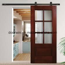american sliding barn door bedroom door s with glass insert wood interior door