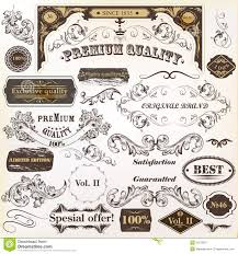 Label Design Vector Free Download Collection Of Vintage Vector Design Elements And Labels