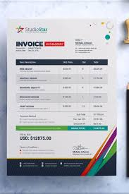 ms invoice invoice bill cash memo template ms word eps and psd