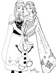 Online Disney Coloring Pages Coloring Pages Frozen Online Free For