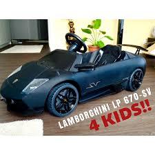 Lamborghini Murcielago Lp Sv Electric Car For Kids Part