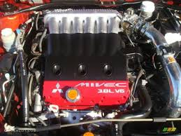 2006 Mitsubishi Eclipse GT Coupe 3.8 Liter SOHC 24 Valve MIVEC V6 ...