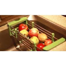 countertop vegetable storage fruits and vegetables draining rack kitchen sink dish rack insert storage organizer tray in storage holders racks from home