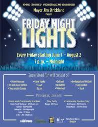 Friday Night Lights Tour Friday Night Lights I Love Memphis