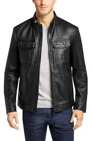 malron men classic leather jackets2