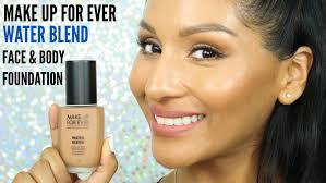 1st impression demo mufe water blend face body foundation for tan skin beautybymariela