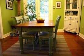 lovely dining room design with solid wood farmhouse dining table attractive furniture for dining room pictures