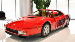 Save $20,544 on a used ferrari testarossa near you. Cars We Love 1985 1991 Ferrari Testarossa