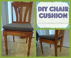 Making Dining Chair Cushions