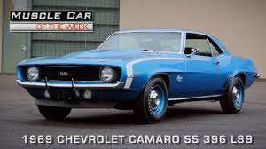 Muscle Car Of The Week Video Episode #112: 1969 Chevrolet Camaro ...