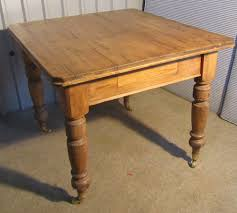 Pine Kitchen Tables For Victorian Rustic Pine Kitchen Table Antiques Atlas