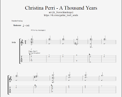 A Thousand Years Sheet Music A Thousand Years Twilight