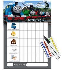 Thomas Potty Training Reward Chart Pen Free Star