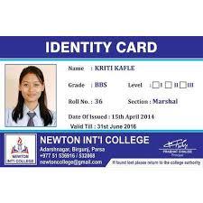 Card Pvc Id Pvc College College