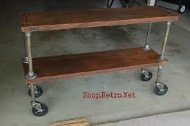 french industrial furniture. 308 Vintage Industrial Shelf40.jpg French Furniture O