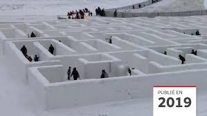 Dans ce dernier volet de l'épopée le labyrinthe, thomas et les blocards. Un Labyrinthe De Neige Du Manitoba Bat Le Record Du Monde Radio Canada Ca