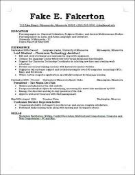 What Should I Put On My Resume | Sainde intended for What Should I Put On