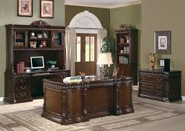 unique home office furniture. Contemporary Unique Unique Home Office Furniture The Villa Park Traditional Carved Wood Desk  Set Intended Unique Home Office Furniture