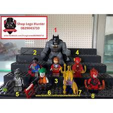 Lego Superheroes DC Minifigures Bigfig Crime Syndicate Cybord Superman Flash  Batman Death Storm Grid Joker Sea King DLP, Giá tháng 10/2020