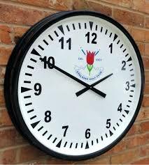 waterproof outdoor clocks large outdoor clocks waterproof pavilion sports club house clocks interior design apps for