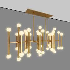 meurice rectangular chandelier jonathan adler designed by jonath 3d model max obj mtl 1