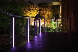 lighting that is discreet and stylish comes in many forms here we have a light tape installation that really fits the bill it provides a very effective balcony lighting ideas