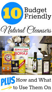 Cleaning Advertising Ideas Ten Budget Friendly Natural Cleaning Ideas Fox Hollow Cottage