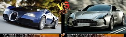 An aston for all seasons. Bugatti Veyron 16 4 Vs Aston Martin One 77 Duel 12474126