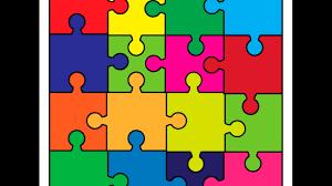 Puzzle Background Adobe Illustrator Cs6 Tutorial How To Draw