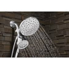 Moen 26008 Magnetix Dual Hand Held Rain Shower Head Combo The