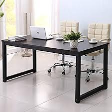 writing desks home office. Home Office Desk, 63in Writing Desks Large Study Computer Table Workstation,Black Wooden Top T