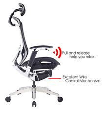 ifit wire control mechanism aluminum base zero gravity office chair