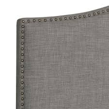 hometrends linen grey headboard  walmartca