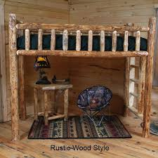 log loft bed best loft beds images on ideas small spaces and studio apartments log loft log loft bed