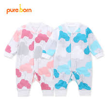 Designer Newborn Baby Boy Clothes Sale Toddlers Boys Girls Clothes Cute Infant Clothes Floral Designs 100 Cotton Newborn Baby Rompers Baby Clothing On Sales Pureborn In Rompers From Mother