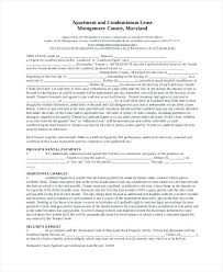 Apartment Rental Contract Renters Lease Agreement Well Renters Lease ...