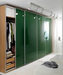 Decorations:Stylish Mens Glass Walk In Closet With Glass Walls And Sliding  Glass Wardrobe Doors
